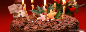 Chocolate Birthday Cake, Free Facebook Timeline Profile Cover, Holidays