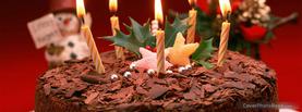 Chocolate Birthday Cake, Free Facebook Timeline Profile Cover, Holidays