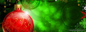 Christmas Ball, Free Facebook Timeline Profile Cover, Holidays