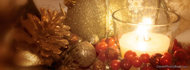 Christmas Candle Ornaments, Free Facebook Timeline Profile Cover, Holidays
