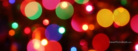 Christmas Colorful Lights, Free Facebook Timeline Profile Cover, Holidays