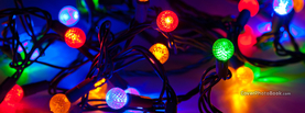 Christmas Lights, Free Facebook Timeline Profile Cover, Holidays