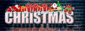 Christmas Snow and Gifts, Free Facebook Timeline Profile Cover, Holidays