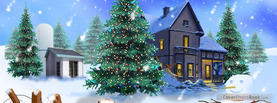 Christmas Snowman, Free Facebook Timeline Profile Cover, Holidays