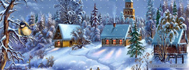 Christmas Town, Free Facebook Timeline Profile Cover, Holidays