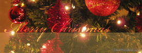 Christmas Tree Lights, Free Facebook Timeline Profile Cover, Holidays