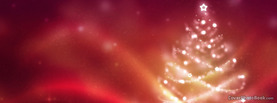 Christmas Tree Red Blur Lights, Free Facebook Timeline Profile Cover, Holidays