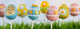 Easter Egg Candy Lolly Grass, Free Facebook Timeline Profile Cover, Holidays