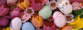 Easter Egg Pastels, Free Facebook Timeline Profile Cover, Holidays