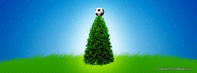 Football Christmas Tree, Free Facebook Timeline Profile Cover, Holidays