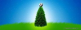 Football Christmas Tree, Free Facebook Timeline Profile Cover, Holidays