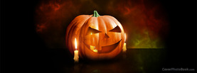 Halloween Pumpkin Candles, Free Facebook Timeline Profile Cover, Holidays