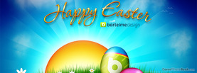 Happy Easter Bartelme, Free Facebook Timeline Profile Cover, Holidays