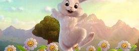 Happy Easter Bunny, Free Facebook Timeline Profile Cover, Holidays