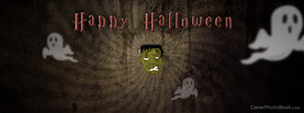 Happy Halloween Frankenstein, Free Facebook Timeline Profile Cover, Holidays