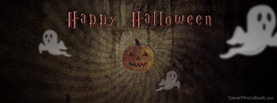 Happy Halloween Pumpkin, Free Facebook Timeline Profile Cover, Holidays