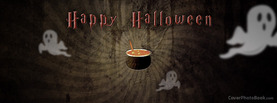 Happy Halloween Witch Pot, Free Facebook Timeline Profile Cover, Holidays