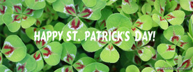 Happy St Patricks Day, Free Facebook Timeline Profile Cover, Holidays