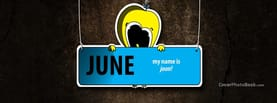 June my name is Joon Tweety Bird, Free Facebook Timeline Profile Cover, Holidays