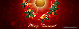 Merry Bright Christmas, Free Facebook Timeline Profile Cover, Holidays