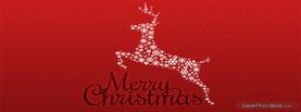 Merry Christmas Reindeer, Free Facebook Timeline Profile Cover, Holidays