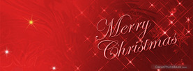 Merry Christmas Sparkle, Free Facebook Timeline Profile Cover, Holidays