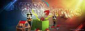 Merry Christmas Toys QuanDuong, Free Facebook Timeline Profile Cover, Holidays