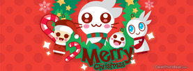 Merry Christmas VampireJaku, Free Facebook Timeline Profile Cover, Holidays