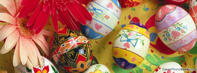 Pretty Easter Eggs, Free Facebook Timeline Profile Cover, Holidays