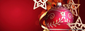 Red Christmas Ornament, Free Facebook Timeline Profile Cover, Holidays
