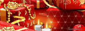 Red Fancy Presents, Free Facebook Timeline Profile Cover, Holidays