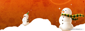 Snow Men, Free Facebook Timeline Profile Cover, Holidays