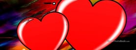 Big Hearts In Love, Free Facebook Timeline Profile Cover, Love