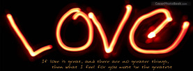 Greatest Love for You, Free Facebook Timeline Profile Cover, Love