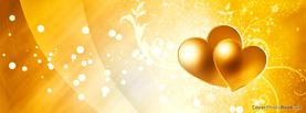Happy Valentine Glows Orange, Free Facebook Timeline Profile Cover, Love