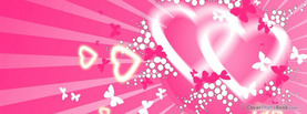 Heart Love Butterflies, Free Facebook Timeline Profile Cover, Love