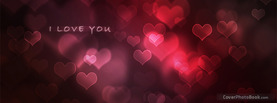 I Love You Hearts, Free Facebook Timeline Profile Cover, Love