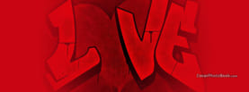 Love Graffiti, Free Facebook Timeline Profile Cover, Love