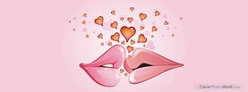 Love Kiss Hearts, Free Facebook Timeline Profile Cover, Love