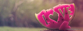 Love Watermelon, Free Facebook Timeline Profile Cover, Love
