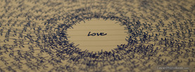 Love Writing, Free Facebook Timeline Profile Cover, Love