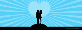 Man Woman Love Silhouette, Free Facebook Timeline Profile Cover, Love