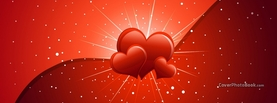 Nice Hearts for Valentine, Free Facebook Timeline Profile Cover, Love