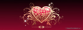 Royal Heart, Free Facebook Timeline Profile Cover, Love
