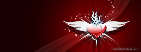 Tribal Love Heart Maestreo, Free Facebook Timeline Profile Cover, Love