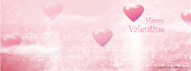 Valentine Hearts Light Pink, Free Facebook Timeline Profile Cover, Love