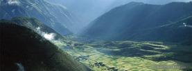 Agricultural Field Village Tibet, Free Facebook Timeline Profile Cover, Nature
