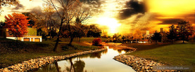 Autumn day in the Park, Free Facebook Timeline Profile Cover, Nature