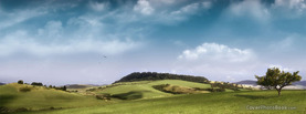 Beautiful Hilltop, Free Facebook Timeline Profile Cover, Nature