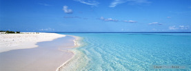 Calm Beach Shoreline, Free Facebook Timeline Profile Cover, Nature